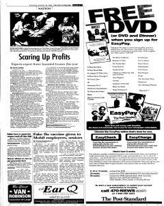 Syracuse Post Standard, October 29, 2005, Page 79