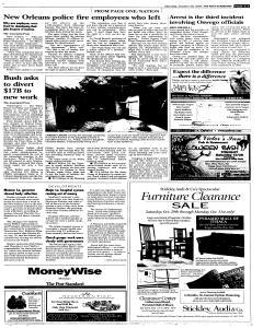 Syracuse Post Standard, October 29, 2005, Page 91