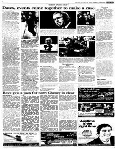 Syracuse Post Standard, October 29, 2005, Page 93