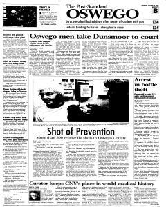 Syracuse Post Standard, October 29, 2005, Page 99