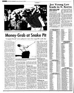 Syracuse Post Standard, October 30, 2005, Page 38