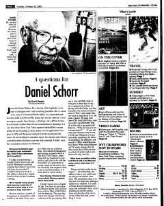 Syracuse Post Standard, October 30, 2005, Page 124