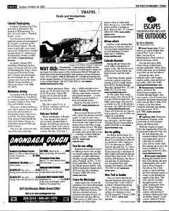 Syracuse Post Standard, October 30, 2005, Page 130