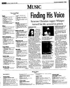 Syracuse Post Standard, October 30, 2005, Page 141