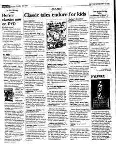Syracuse Post Standard, October 30, 2005, Page 143