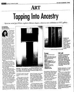 Syracuse Post Standard, October 30, 2005, Page 145
