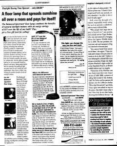 Syracuse Post Standard, October 30, 2005, Page 201