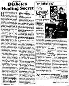 Syracuse Post Standard, October 30, 2005, Page 207