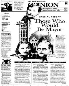 Syracuse Post Standard, October 30, 2005, Page 53