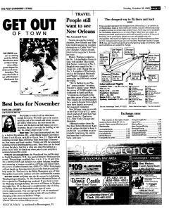 Syracuse Post Standard, October 30, 2005, Page 129