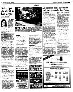 Syracuse Post Standard, October 30, 2005, Page 131