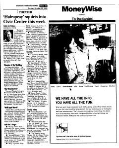 Syracuse Post Standard, October 30, 2005, Page 137
