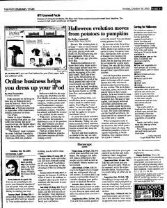 Syracuse Post Standard, October 30, 2005, Page 152