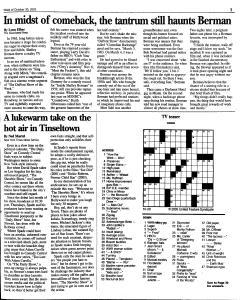 Syracuse Post Standard, October 30, 2005, Page 158