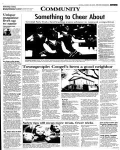 Syracuse Post Standard, October 30, 2005, Page 274