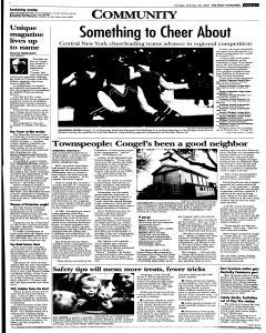 Syracuse Post Standard, October 30, 2005, Page 338