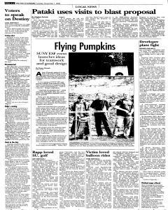 Syracuse Post Standard, November 01, 2005, Page 16
