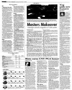 Syracuse Post Standard, November 10, 2005, Page 28