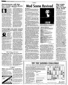 Syracuse Post Standard, November 10, 2005, Page 38