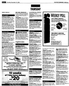 Syracuse Post Standard, November 10, 2005, Page 58