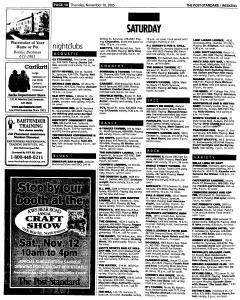Syracuse Post Standard, November 10, 2005, Page 64