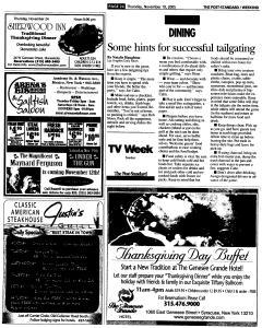 Syracuse Post Standard, November 10, 2005, Page 78