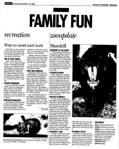 Syracuse Post Standard, November 10, 2005, Page 88