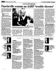 Syracuse Post Standard, November 10, 2005, Page 92