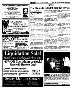 Syracuse Post Standard, November 10, 2005, Page 100