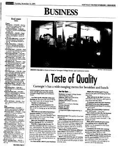 Syracuse Post Standard, November 10, 2005, Page 145