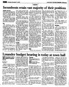 Syracuse Post Standard, November 10, 2005, Page 165