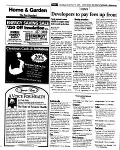 Syracuse Post Standard, November 10, 2005, Page 167