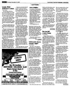 Syracuse Post Standard, November 10, 2005, Page 182