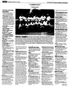 Syracuse Post Standard, November 10, 2005, Page 184