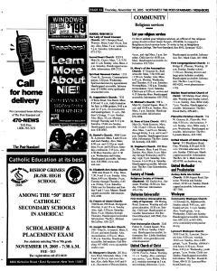Syracuse Post Standard, November 10, 2005, Page 194