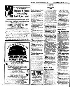 Syracuse Post Standard, November 10, 2005, Page 202