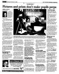 Syracuse Post Standard, November 10, 2005, Page 242