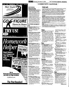 Syracuse Post Standard, November 10, 2005, Page 254