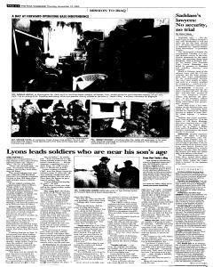 Syracuse Post Standard, November 10, 2005, Page 266