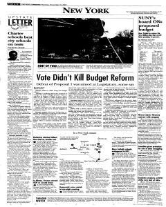 Syracuse Post Standard, November 10, 2005, Page 314