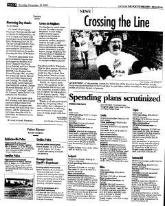 Syracuse Post Standard, November 10, 2005, Page 330
