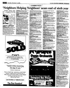 Syracuse Post Standard, November 10, 2005, Page 332