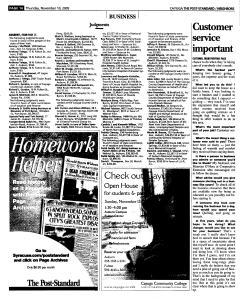Syracuse Post Standard, November 10, 2005, Page 342