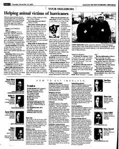 Syracuse Post Standard, November 10, 2005, Page 344
