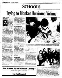 Syracuse Post Standard, November 10, 2005, Page 352