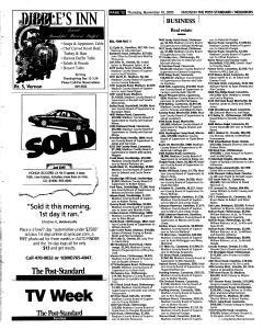 Syracuse Post Standard, November 10, 2005, Page 354