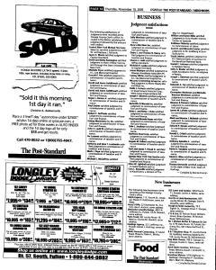 Syracuse Post Standard, November 10, 2005, Page 376