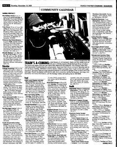 Syracuse Post Standard, November 10, 2005, Page 380