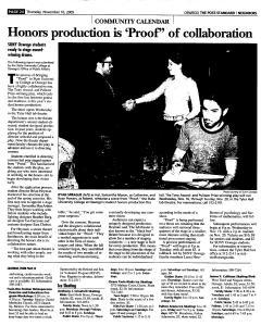 Syracuse Post Standard, November 10, 2005, Page 382