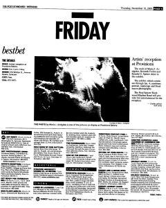 Syracuse Post Standard, November 10, 2005, Page 59